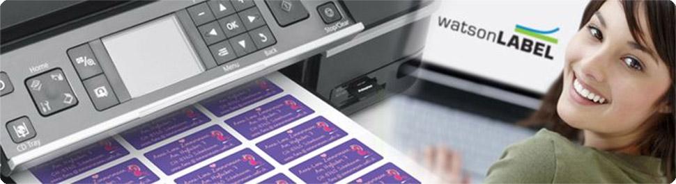 A4-Laser-Etiketten oder A4-Inkjet-Etiketten