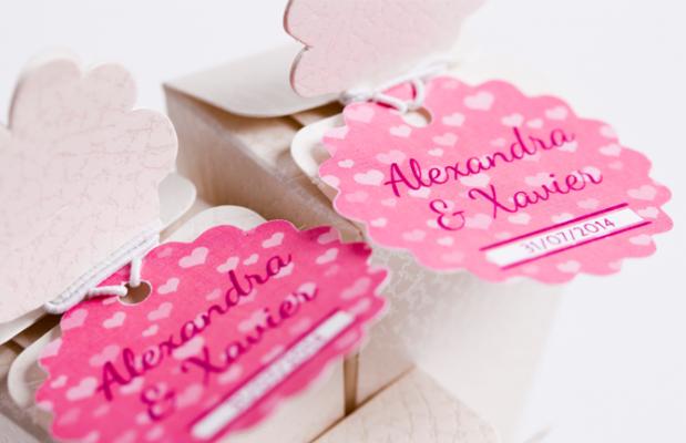 Hochzeitsetiketten