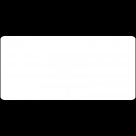 wasserlösliche Etiketten 105 x 50 mm selbst gestalten