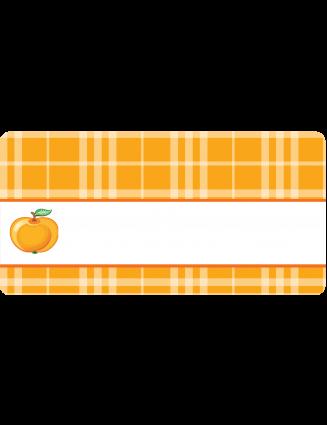 Aufkleber für Marmeladengläser Apfel von watsonlabel