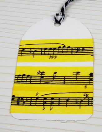 Masking Tape, Washi Tape Gelb, Pentagramm 15 mm x 10 m