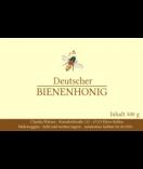 Honigetiketten Classic Bee 85 x 55 mm gelb
