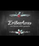 Klebe-Etiketten Rustic Christmas 85 x 55 mm chalkboard
