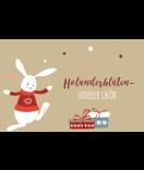 Weihnachtsetiketten Sweet Christmas 85 x 55 mm