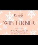 Klebe-Etiketten Snowflakes 85 x 55 mm lachsrosa