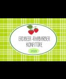 Erdbeer Etiketten Sweet Fruits 85 x 55 mm