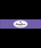 Klebe-Etiketten Vintage Stripes 130 x 30 mm Banderole