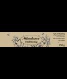 Honigetiketten Botanical 130 x 30 mm taupe