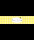 Banderole, Klebe-Etiketten Polka Dots 130 x 30 mm