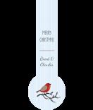 Verschluss-Etiketten Sweet Christman 27 x 80 mm 1