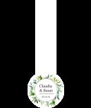 Greenery Siegel Verschluss Etiketten 27 x 80 mm