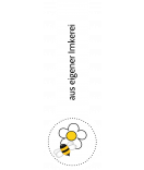 Verschluss Etiketten Busy Bee 27 x 80 mm