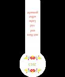 Frische-Siegel Etiketten Riga 27 x 80 mm weiß