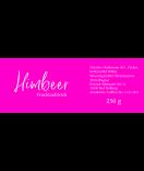Klebe-Etiketten Glamorous 80 x 30 mm Fruchtaufstrich