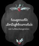 Klebe-Etiketten Rustic Christmas 47 x 60 mm chalkboard