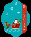 Etiketten Weihnachten Santa 47 x 60 mm