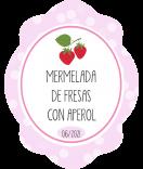 Erdbeer Etiketten Sweet Fruits 47 x 60 mm