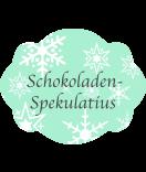 Klebe-Etiketten Snowflakes 60 x 47 mm mint