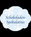Klebe-Etiketten Snowflakes 60 x 47 mm blau
