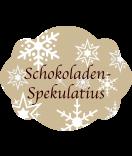 Klebe-Etiketten Snowflakes 47 x 60 mm braun