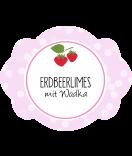 Erdbeer Etiketten Sweet Fruits 60 x 47 mm