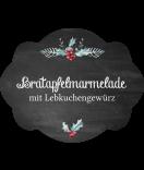 Klebe-Etiketten Rustic Christmas 60 x 47 mm chalkboard