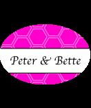 Klebe-Etiketten oval Frame 30 x 20 mm pink