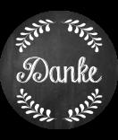 Klebe-Etiketten rund Chalkboard Shaded 30 mm