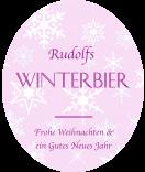 Klebe-Etiketten Snowflakes 67 x 81 mm rosa