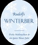 Klebe-Etiketten Snowflakes 67 x 81 mm blau