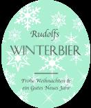 Klebe-Etiketten Snowflakes 67 x 81 mm mint