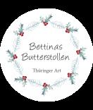 Klebe-Etiketten rund 68 mm Rustic Christmas weiß