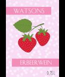 Erbeer Wein Etiketten Sweet Fruits 68 x 98 mm