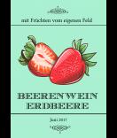 Vintage Etiketten Farmers Market 68 x 98 mm Erdbeere mint