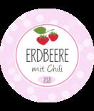 Erdbeer Etiketten Sweet Fruits 40 mm rund
