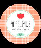 Apfel Etiketten rund Sweet Fruits 40 mm