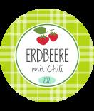 Erdbeer Etiketten rund Sweet Fruits 40 mm