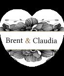 Klebe Etiketten Herz Blossoms 44 x 39 mm schwarz