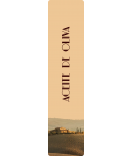 Klebe-Etiketten Tuscany 30 x 130 mm
