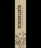 Klebe Etiketten Botanical 30 x 130 mm taupe