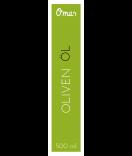 Omas Klebe-Etiketten für Flaschen grün 30 x 130 mm