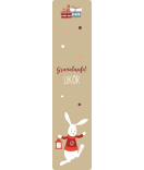 Weihnachtsetiketten Sweet Christmas 30 x 130 mm
