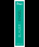 Omas Klebe-Etiketten für Flaschen türkis 30 x 130 mm