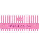 Klebe-Etiketten Candy Stripes 50 x 20 mm rosa