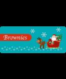 Etiketten Weihnachten Santa 50 x 20 mm