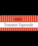 Klebe-Etiketten Vintage Stripes rot 50 x 20