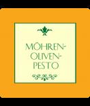 Klebe-Etiketten Modena 50 x 50 mm orange
