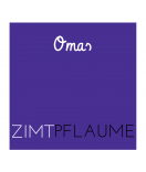 Omas Klebe-Etiketten violett 50 x 50 mm