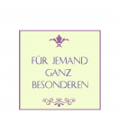 Klebe-Etiketten Modena 50 x 50 mm lavendel