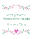 Klebe Etiketten Filigree pink 50 x 50 mm